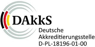 IKT is accredited with the DAkkS National Accreditation Body for tests on CIPP liners and plastics