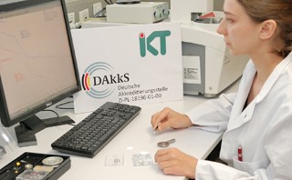 IKT's test centre for building products has been reaccredited.