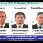 Video: Webinar on IKT Research Activities 2015