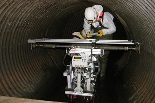 MAC system in sewer in Weston-super-Mare