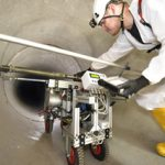 Large Diameter Pipes – repair or replace? Non-destructive testing with the MAC system