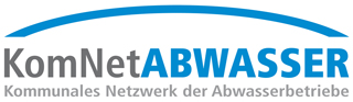 logo of KomNetABWASSER, the municipal network of wastewater
